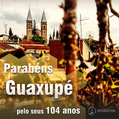 Guaxupé 104 anos