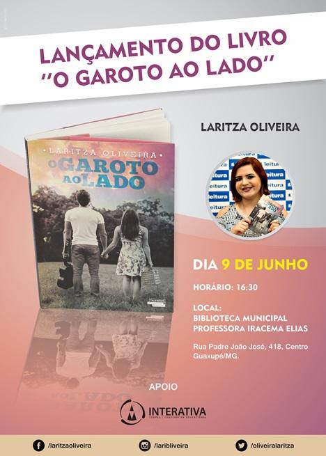 Lançamento - O Garoto ao Lado - Laritza (SITE)