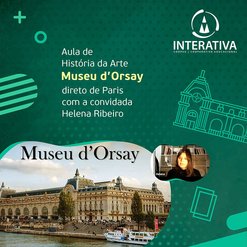 Tour virtual pelo acervo do Museu D'Orsay